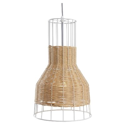 Laika 1-Light Small Pendant Color: Natural