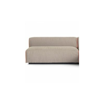 Cleon Two-Seat Unarmed Loveseat Upholstery: Cement