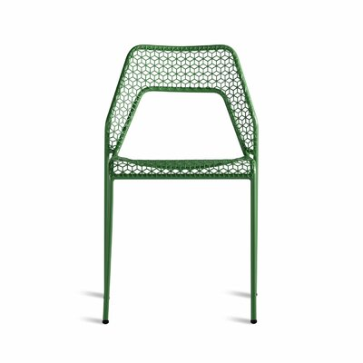 Hot Mesh Side Chair Upholstery: Green