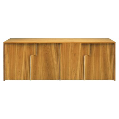 Image of Blu Dot Drift Four Door Console Wood: Cherry (BLD1067_2405423)