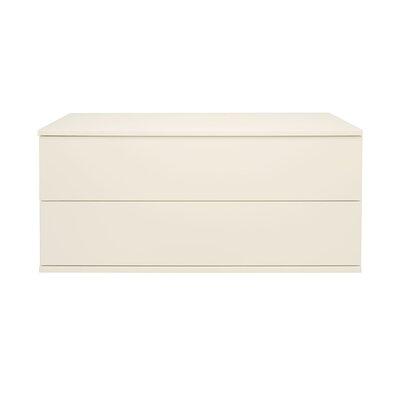 Wonder Wall 2 Drawer Dresser Color: Ivory