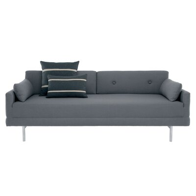 One Night Stand Sleeper Sofa Upholstery: Pebble