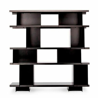 Version 48.25'' Bookcase Finish: Black Product Picture 2908