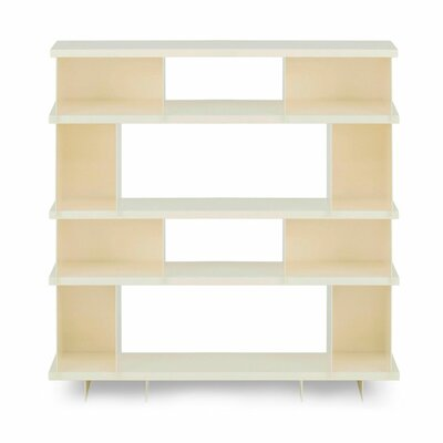 Version 48.25'' Bookcase Finish: Ivory Product Picture 2908