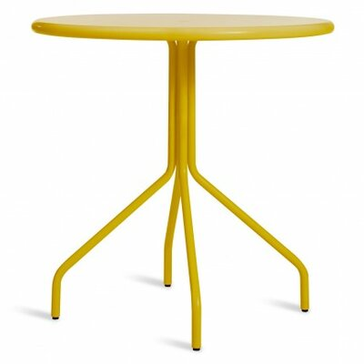 Hot Mesh Caf� Table Color: Yellow