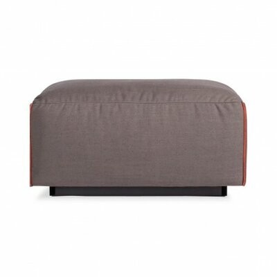 Cleon Ottoman Upholstery: Basalt