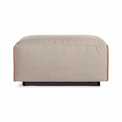 Cleon Ottoman Body Fabric: Cement