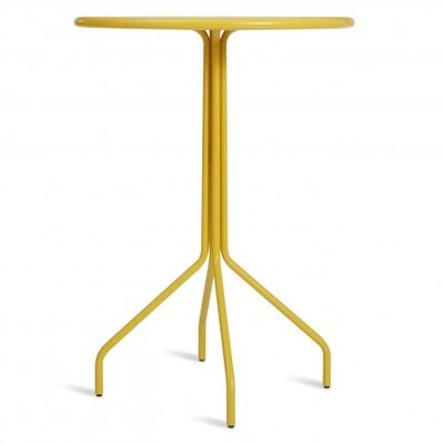 Hot Mesh Bar Table Finish: Yellow