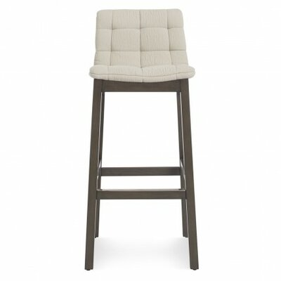 Wicket Smoke 31.7 Bar Stool Body Fabric: Sand