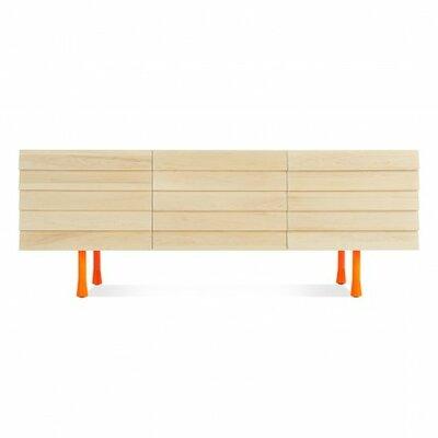 Lap Sideboard Color: Orange