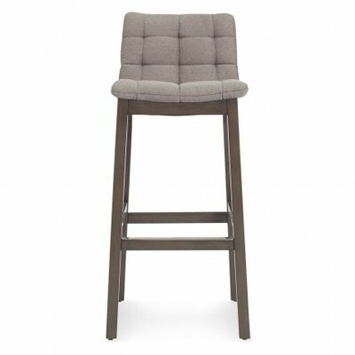 Wicket Smoke 31.7 Bar Stool Body Fabric: Pewter
