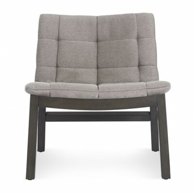 Wicket Smoke Slipper Chair Color: Pewter