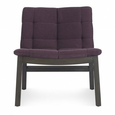 Wicket Smoke Slipper Chair Upholstery: Purple