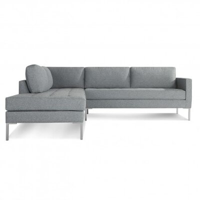 Paramount Facing Sectional Upholstery: Sanford Ceramic