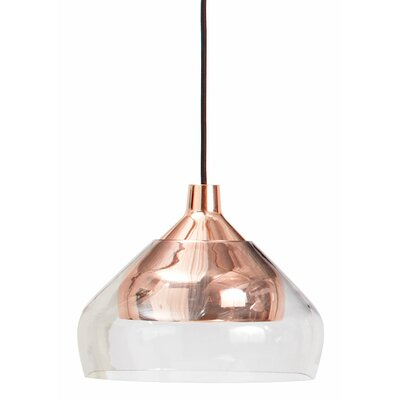 Trace 1-Light Mini Pendant Finish: Copper