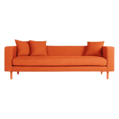Mono Sofa Body Fabric: Orange