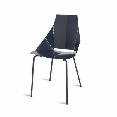 Real Good Side Chair Upholstery: None, Finish: Navy