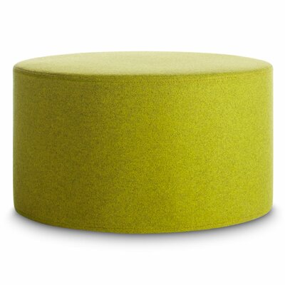 Bumper Large Ottoman Upholstery: Acid Green