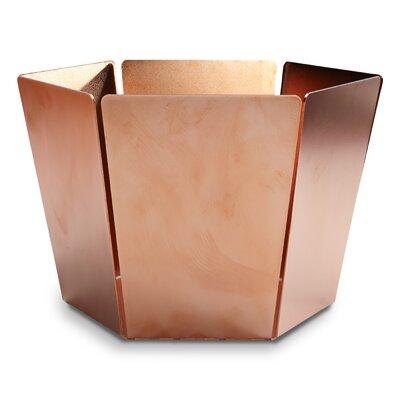 2d3d Bowl Color: Copper, Size: Small