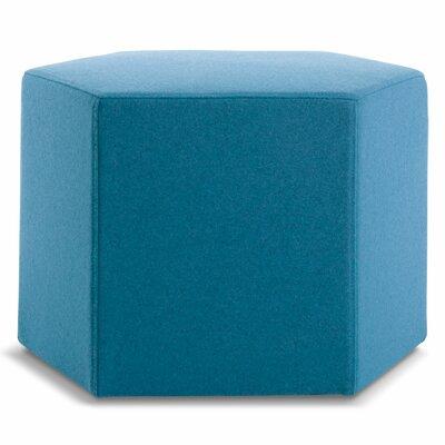 Hecks Ottoman Upholstery: Aqua