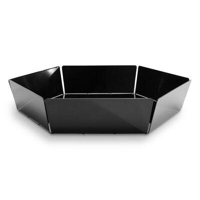 2d3d Bowl Size: Large, Color: Black