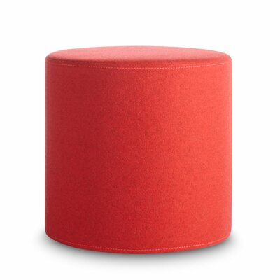 Bumper Small Ottoman Body Fabric: Red