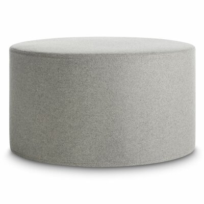 Bumper Large Ottoman Upholstery: Light Grey
