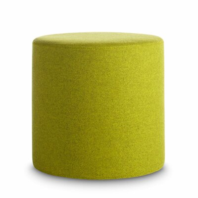 Bumper Small Ottoman Upholstery: Acid Green