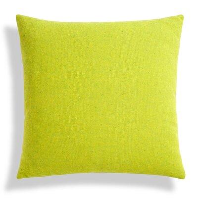 Throw Pillow Color: Guacamole, Size: 24 H x 24 W x 6.5 D