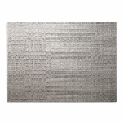 Weft Light Gray / Light Heathered Gray Area Rug Rug Size: 9 x 12