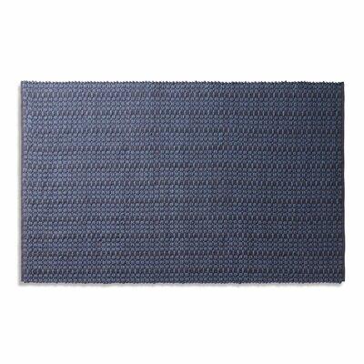 Weft Dark Blue Area Rug Rug Size: 5' x 8'