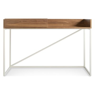 Swish Console Table Leg Finish: Matte White