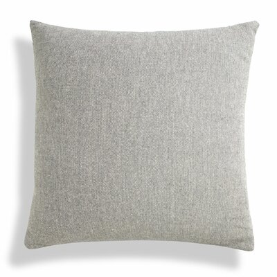 Signal Square Pillow Size: 24 H x 24 W x 6.5 D, Color: Charcoal