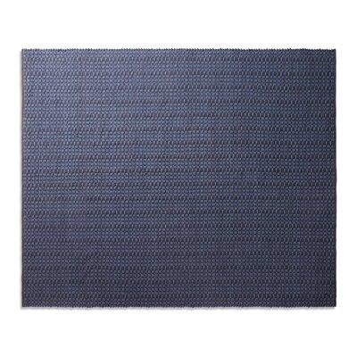 Weft Dark Blue Area Rug Rug Size: 8 x 10