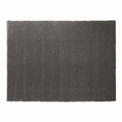 Dollop Dark Gray Area Rug Rug Size: 9 x 12