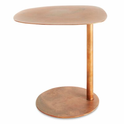 Swole End Table Color: Copper
