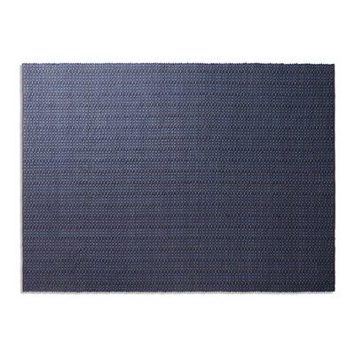 Weft Dark Blue Area Rug Rug Size: 9 x 12