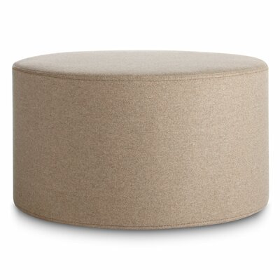 Bumper Large Ottoman Body Fabric: Thurmond Wheat