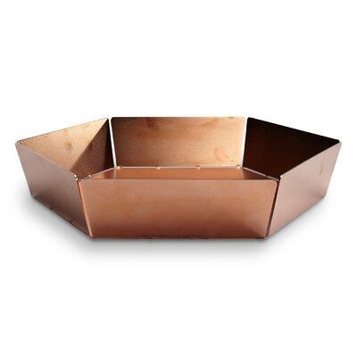2d3d Bowl Size: Large, Color: Copper