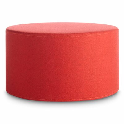 Bumper Large Ottoman Body Fabric: Thurmond Red