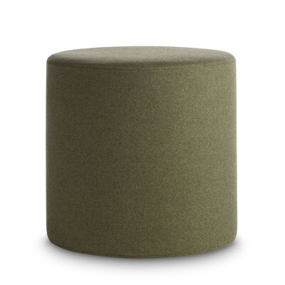 Bumper Small Ottoman Upholstery: Olive