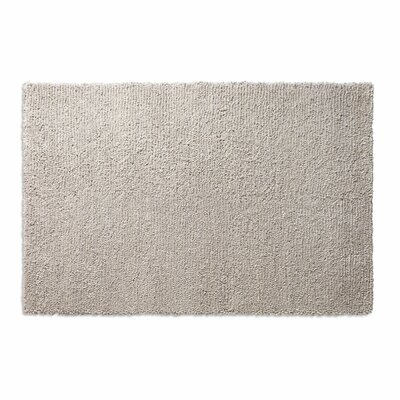 Cush Heathered Oatmeal Area Rug Rug Size: 6 x 9