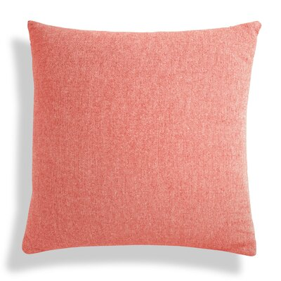Signal Square Pillow Size: 24 H x 24 W x 6.5 D, Color: Poppy