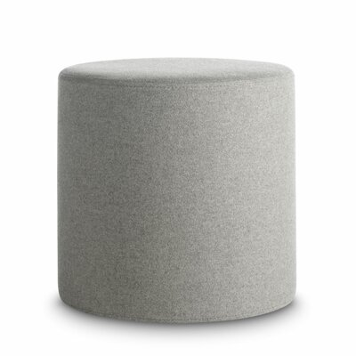 Bumper Ottoman Body Fabric: Thurmond Light Grey