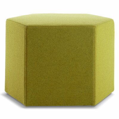 Hecks Ottoman Upholstery: Acid Green