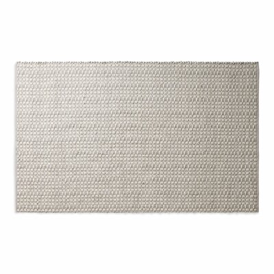 Weft Light Gray / Heathered Oatmeal Area Rug Rug Size: 5 x 8