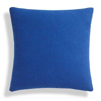 Throw Pillow Size: 18 H x 18 W x 6.5 D, Color: Navy