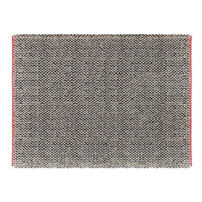 Dollop Grey Area Rug Rug Size: 9 x 12