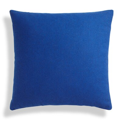 Throw Pillow Color: Navy, Size: 24 H x 24 W x 6.5 D