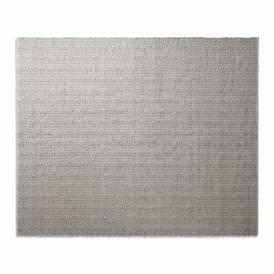 Weft Light Gray / Light Heathered Gray Area Rug Rug Size: 8 x 10